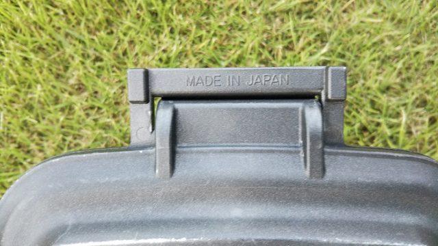 iWANOホットサンドのmade in japanの部分を撮影した写真