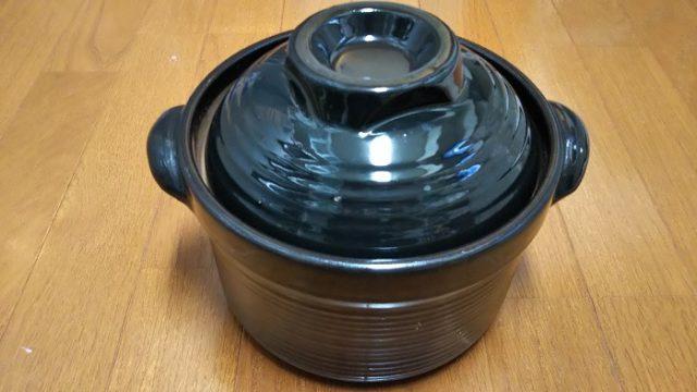 炊飯土鍋を撮影した写真