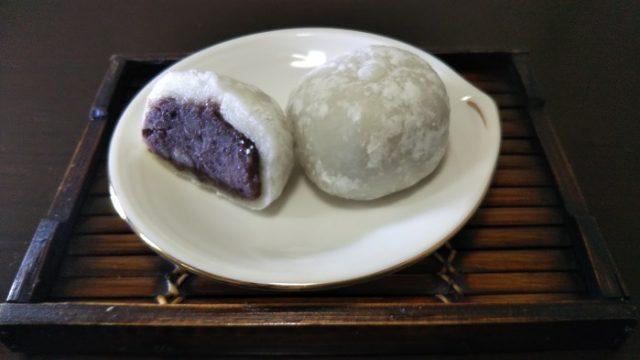 萩原製菓さんの大福を撮影した画像