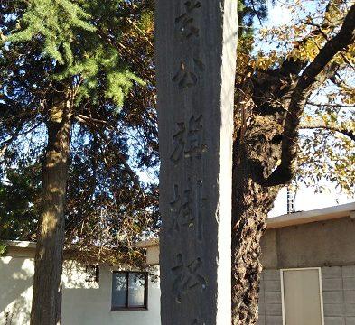 信玄公旗掛松碑を撮影した画像
