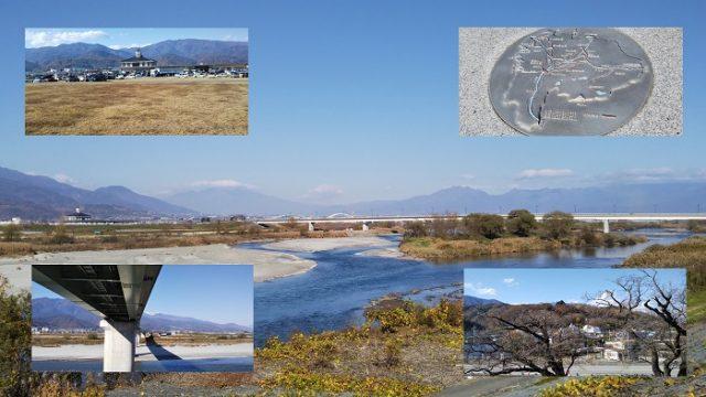 鰍沢口駅からの富士川沿いのサイクリングコースのアイキャッチ