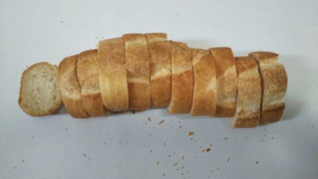 パリクロアッサンさんのフランスパンを撮影した写真