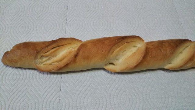 精良軒さんのフランスパンを撮影した写真