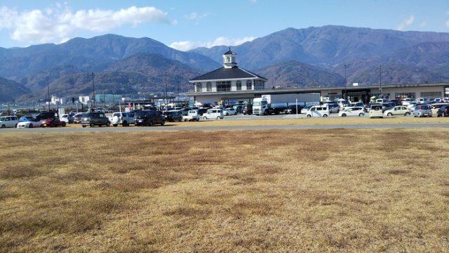 道の駅富士川を撮影した画像