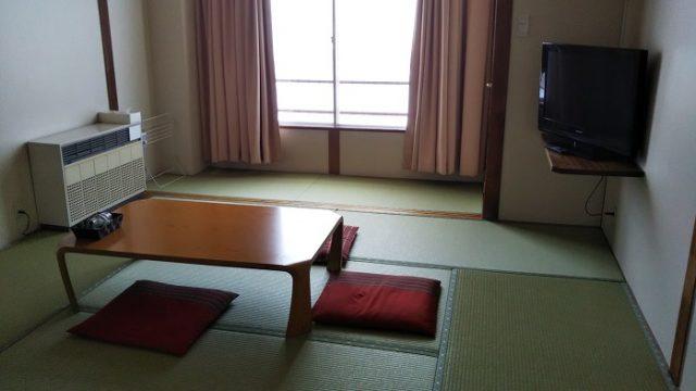 エスポワールみさわさんで宿泊した部屋を撮影した写真