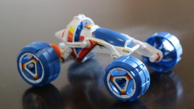 燃料電池ミニバギーの本体を撮影した写真